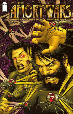 Cover for The Amory Wars #3 (2008)