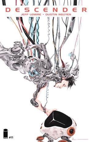 Cover for Descender #11 (2016)