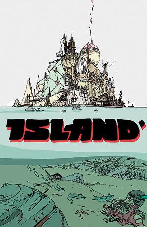 Cover for Island Magazine #1 (2015)