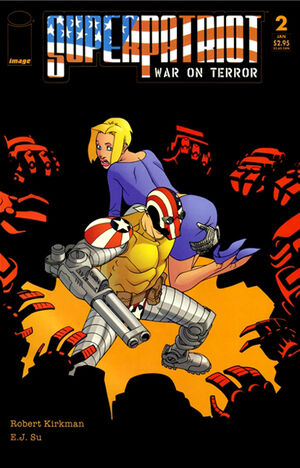 Cover for SuperPatriot: War on Terror #2 (2005)