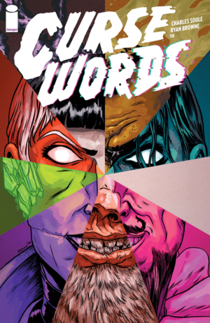 Cover for Curse Words #15 (2018)