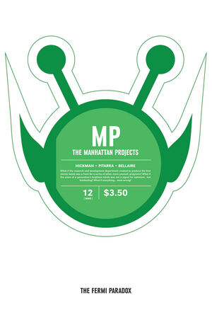 Cover for The Manhattan Projects #12 (2013)