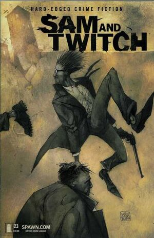 Cover for Sam and Twitch #23 (2002)