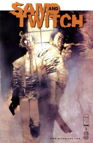 Cover for Sam and Twitch #1 (1999)