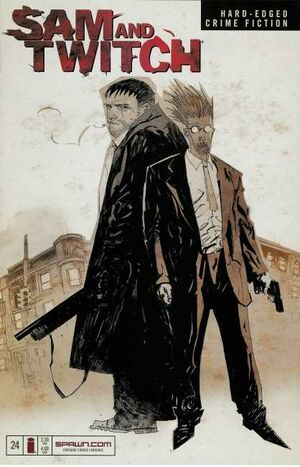 Cover for Sam and Twitch #24 (2003)