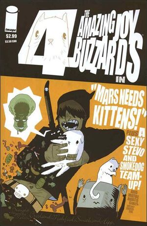 Cover for Amazing Joy Buzzards #4 (2005)