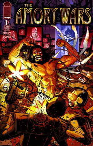 Cover for The Amory Wars #1 (2007)
