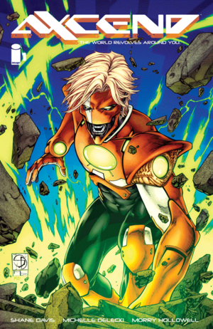 Cover for Axcend #1 (2015)