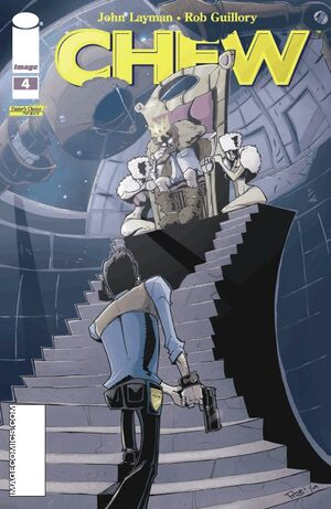 Cover for Chew #4 (2009)