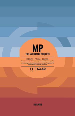 Cover for The Manhattan Projects #11 (2013)