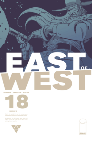 Cover for East of West #18 (2015)
