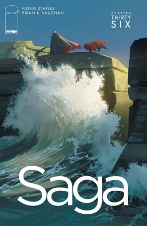 Cover for Saga #36 (2016)