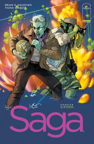 Cover for Saga #16 (2013)