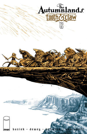 Cover for The Autumnlands #6 (2014)