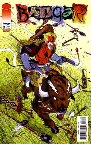 Cover for Badger #2 (1997)