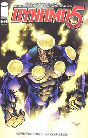 Cover for Dynamo 5 #22 (2009)