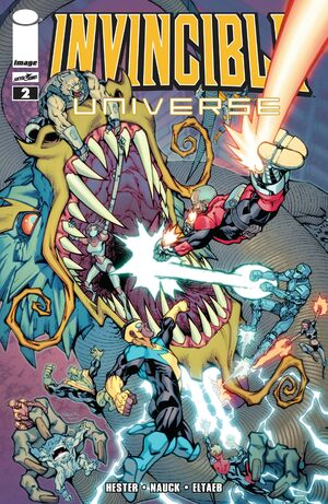 Cover for Invincible Universe #2 (2013)