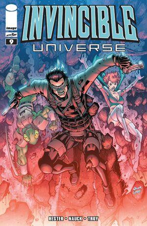Cover for Invincible Universe #9 (2014)