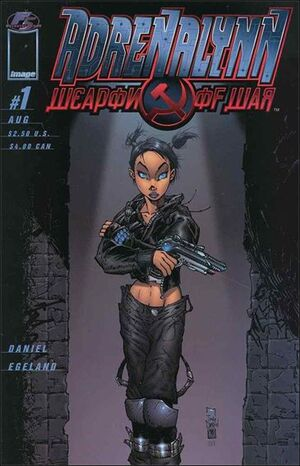 Cover for Adrenalynn Weapon of War (1999)