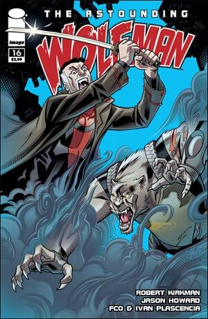 Cover for Astounding Wolf-Man #16 (2009)
