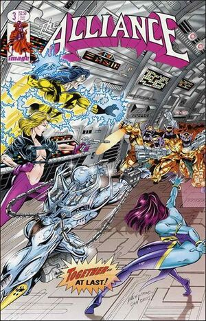 Cover for The Alliance #3 (1995)