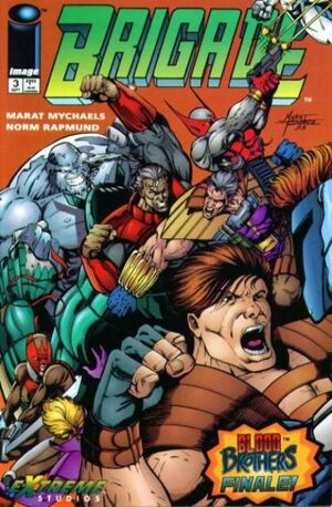 Cover for Brigade #3 (1993)