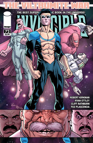 Cover for Invincible #72 (2010)