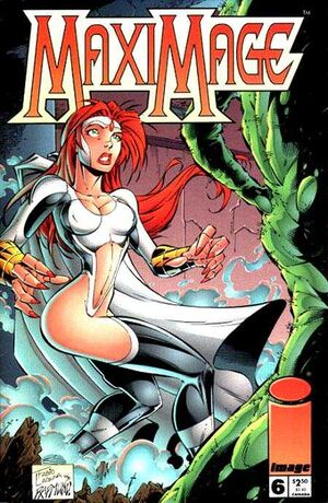 Cover for Maximage #6 (1996)