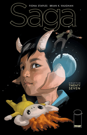 Cover for Saga #27 (2015)
