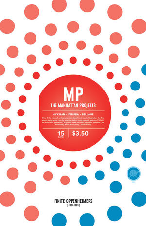 Cover for The Manhattan Projects #15 (2013)