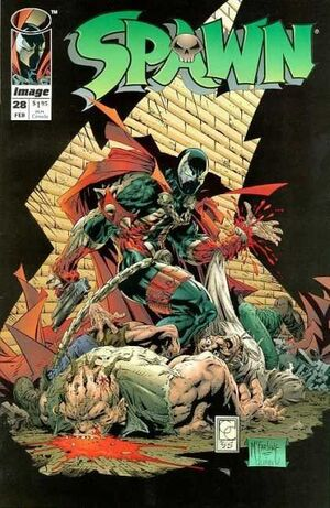 Cover for Spawn #28 (1995)