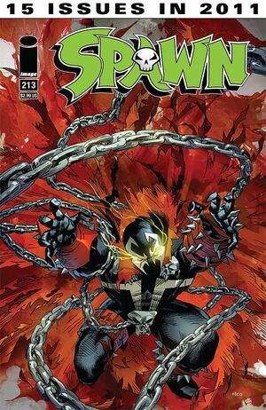 Cover for Spawn #213 (2011)