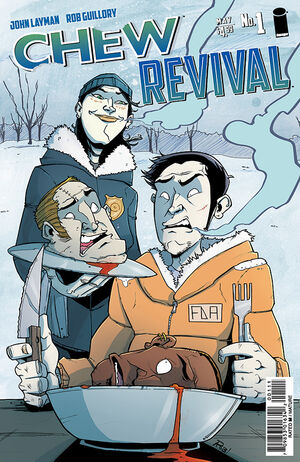 Cover for Chew Revival #1 (2014)