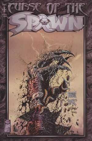 Cover for Curse of the Spawn #4 (1996)