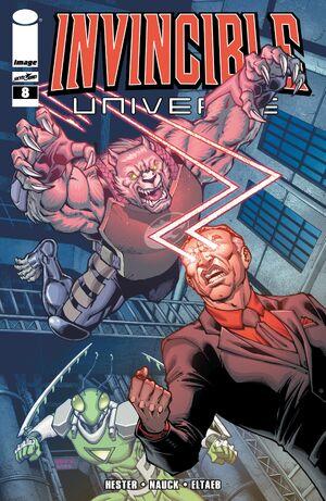 Cover for Invincible Universe #8 (2013)