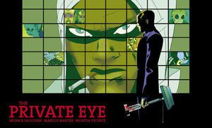 Cover for The Private Eye #5 (2015)