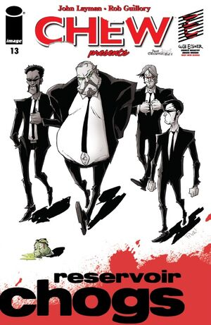 Cover for Chew #13 (2010)