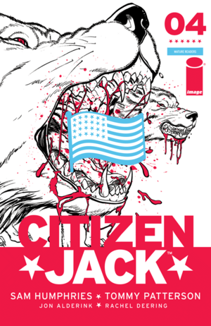 Cover for Citizen Jack #4 (2016)