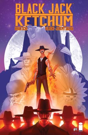 Cover for Black Jack Ketchum #4 (2016)