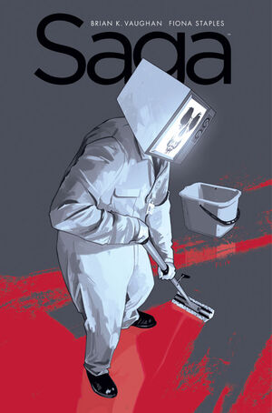 Cover for Saga #21 (2014)