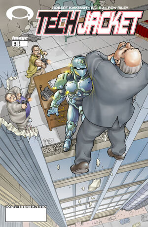 Cover for Tech Jacket #5 (2003)