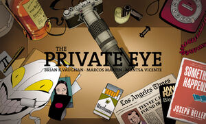 Cover for The Private Eye #10 (2015)