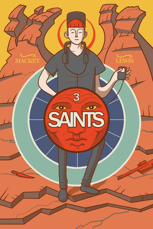 Cover for Saints #3 (2015)
