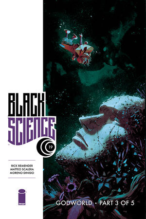 Cover for Black Science #19 (2016)