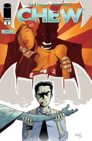 Cover for Chew #9 (2010)