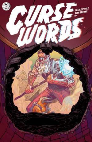 Cover for Curse Words #10 (2017)