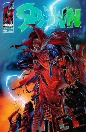 Cover for Spawn #25 (1994)
