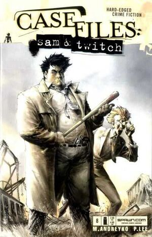 Cover for Case Files: Sam and Twitch #8 (2004)