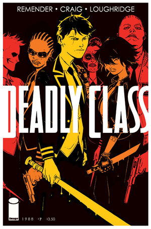 Cover for Deadly Class #7 (2014)
