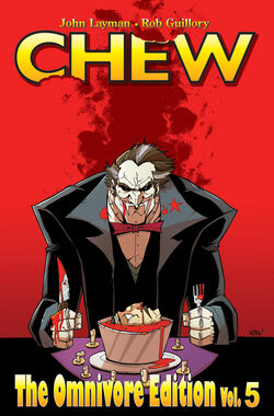 Cover for the Chew HC Omnivore Vol 5 Trade Paperback